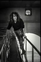 Alexia Eymas sur ses cuves